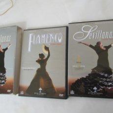 Cine: FLAMENCO SEVILLANAS - CARLOS SAURA - 2 DVD. . Lote 180876857