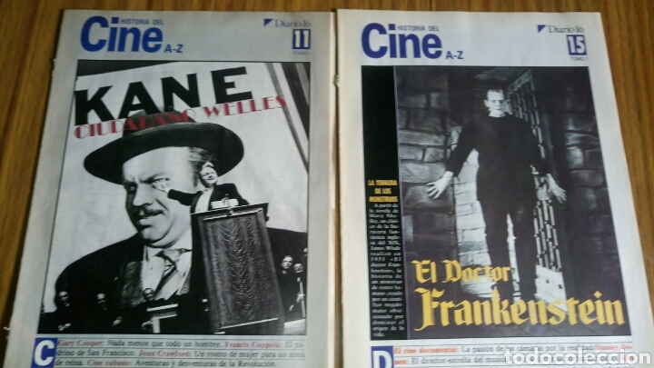 Cine: Historia del cine A- Z, Diario 16, lote de 21 fascículos. - Foto 2 - 181022310