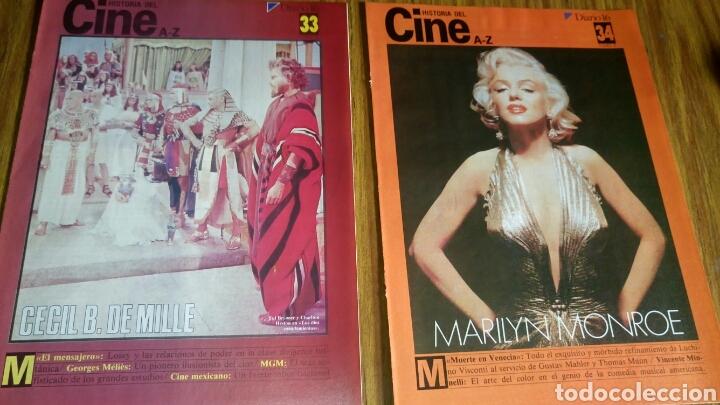 Cine: Historia del cine A- Z, Diario 16, lote de 21 fascículos. - Foto 3 - 181022310