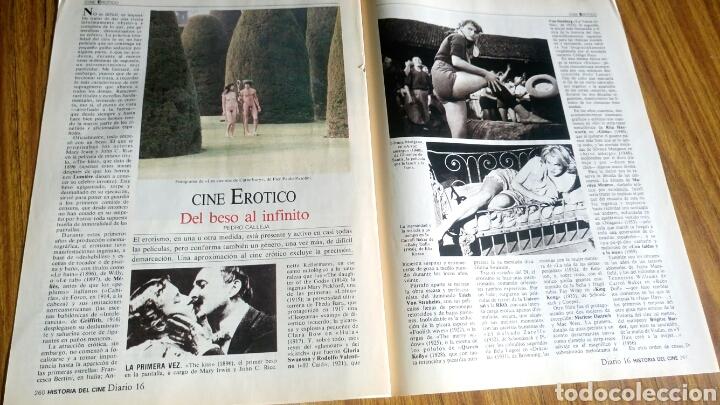 Cine: Historia del cine A- Z, Diario 16, lote de 21 fascículos. - Foto 5 - 181022310