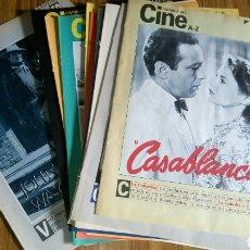 Cine: HISTORIA DEL CINE A- Z, DIARIO 16, LOTE DE 21 FASCÍCULOS.. Lote 181022310