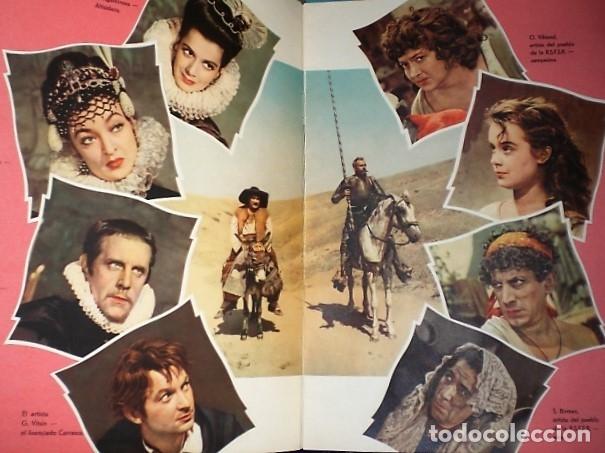 Cine: DOSSIER DE LA PELÍCULA DON QUIJOTE DEL CINEASTA RUSO GRIGORI KÓZINTSEV (CUADERNO+FOTOS ) - Foto 3 - 181146487