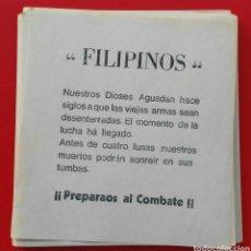 Cine: ATREZZO - LOS ULTIMOS DE FILIPINAS - 1945. INTERESANTE LOTE, ENVIO CERTIFICADO INCLUIDO.. Lote 181402650