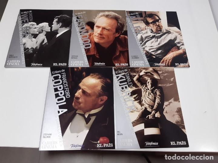COLECCIÓN GRANDES DIRECTORES EL PAIS LIBROS NUMEROS DEL 1 AL 21, (EXCEPTO NUMERO 9) 19 DVD S 1 (Cine - Varios)