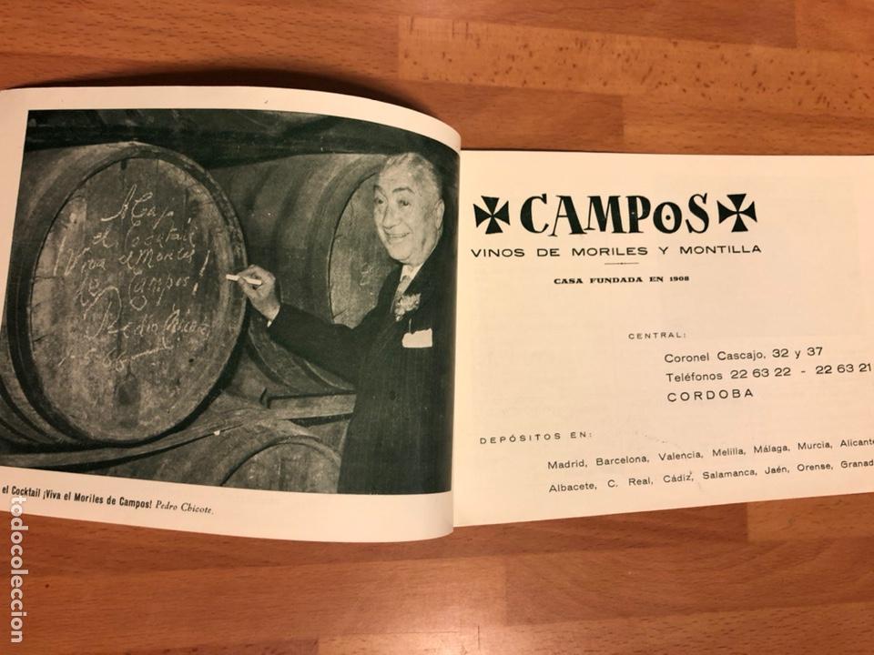 Cine: Catálogo vino moriles.rocio durcal Carmen sevilla Paquita rico chicote la chunga Antonio cordobes 3 - Foto 2 - 183545708