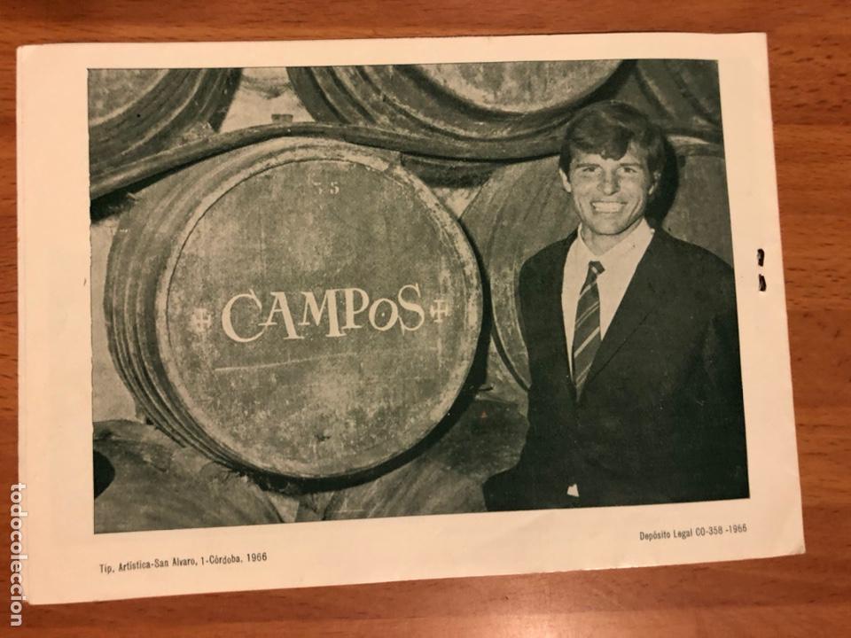 Cine: Catálogo vino moriles.rocio durcal Carmen sevilla Paquita rico chicote la chunga Antonio cordobes 3 - Foto 5 - 183545708
