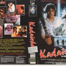 Cinéma: - SOLO CARATULA - KADAICHA LA PIEDRA DE LA MUERTE. Lote 183835052