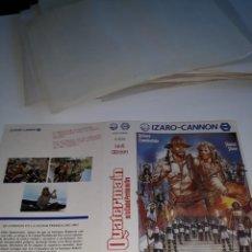 Cine: SOLO CARATULA ~ QUATERMAIN EN LA CIUDAD DEL ORO PERDIDO ~ . Lote 183999436