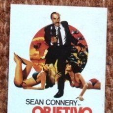 Cine: CROMO SUPER EXITO - OBJETIVO MORTAL - SEAN CONNERY - Nº 13. Lote 184093962