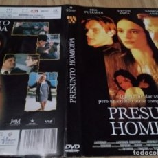 Cine: CARATULA PRESUNTO HOMICIDA - PARA DVD. Lote 186326380