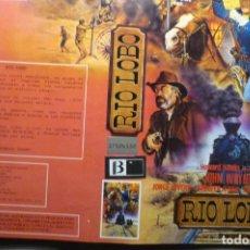Cine: CARATULA VIDEO BETA RIO LOBO JOHN WAYNE. Lote 187118911