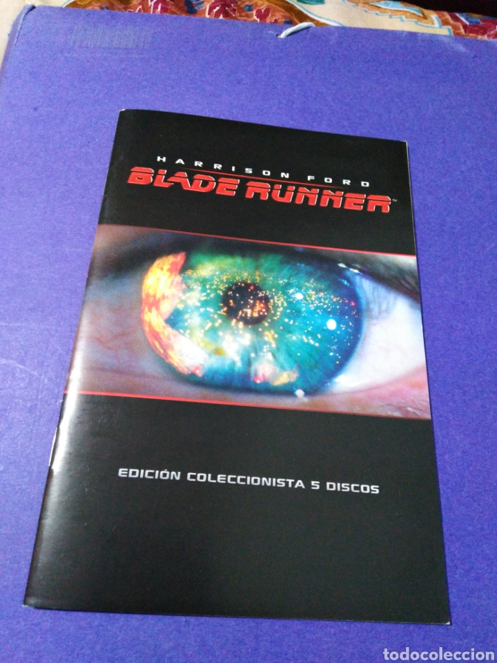 Cine: Blade Runner, caja vacía metálica ( en fotos se observa lo que trae ) NO TRAE PELÍCULAS - Foto 4 - 188521492