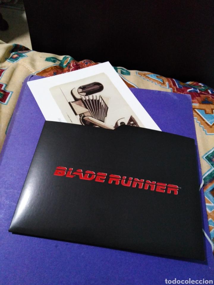 Cine: Blade Runner, caja vacía metálica ( en fotos se observa lo que trae ) NO TRAE PELÍCULAS - Foto 6 - 188521492