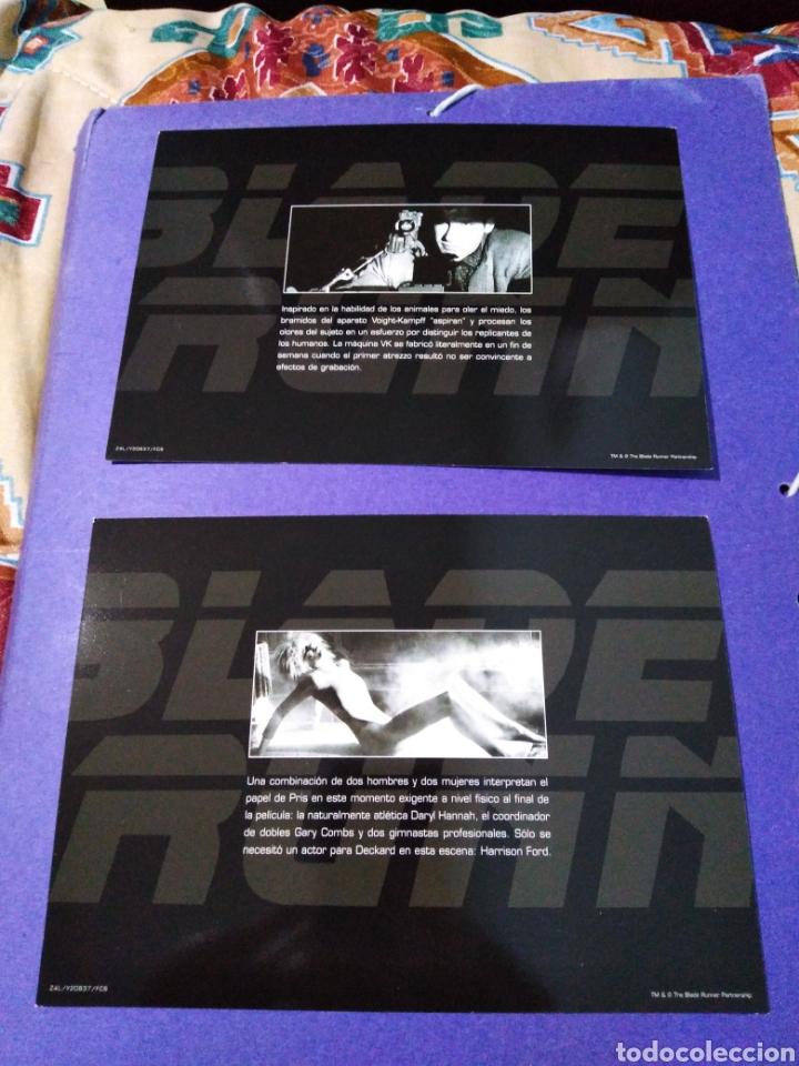 Cine: Blade Runner, caja vacía metálica ( en fotos se observa lo que trae ) NO TRAE PELÍCULAS - Foto 8 - 188521492