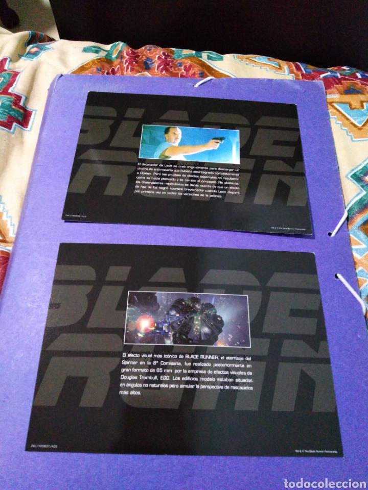 Cine: Blade Runner, caja vacía metálica ( en fotos se observa lo que trae ) NO TRAE PELÍCULAS - Foto 10 - 188521492