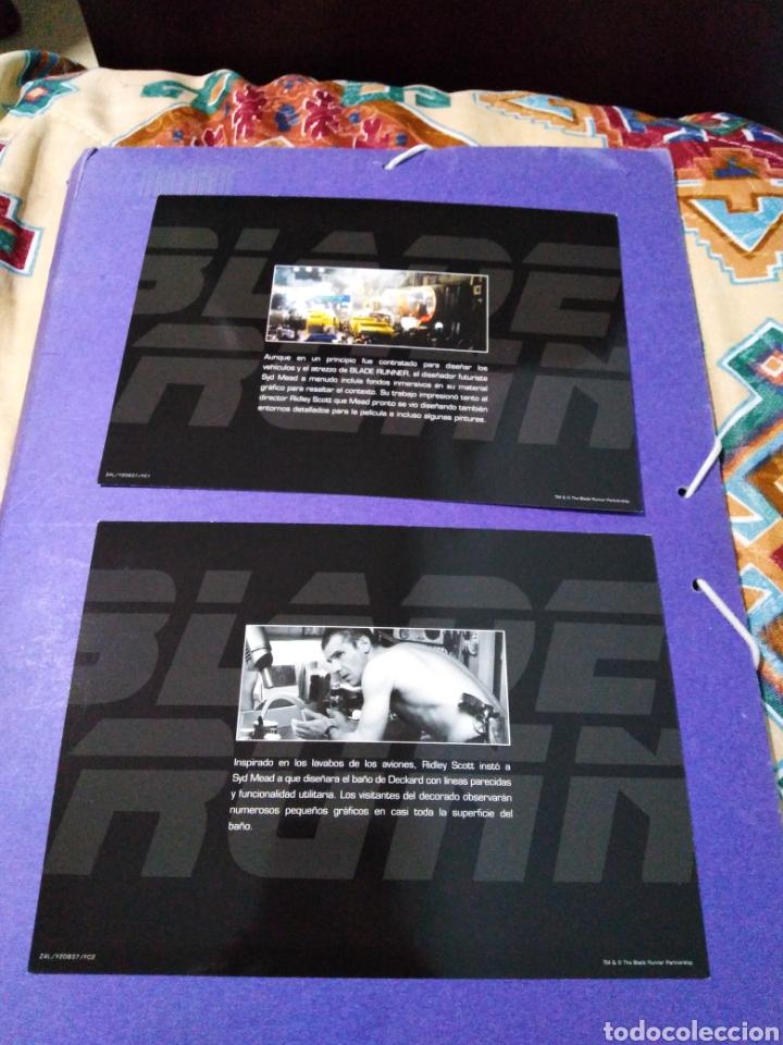 Cine: Blade Runner, caja vacía metálica ( en fotos se observa lo que trae ) NO TRAE PELÍCULAS - Foto 12 - 188521492