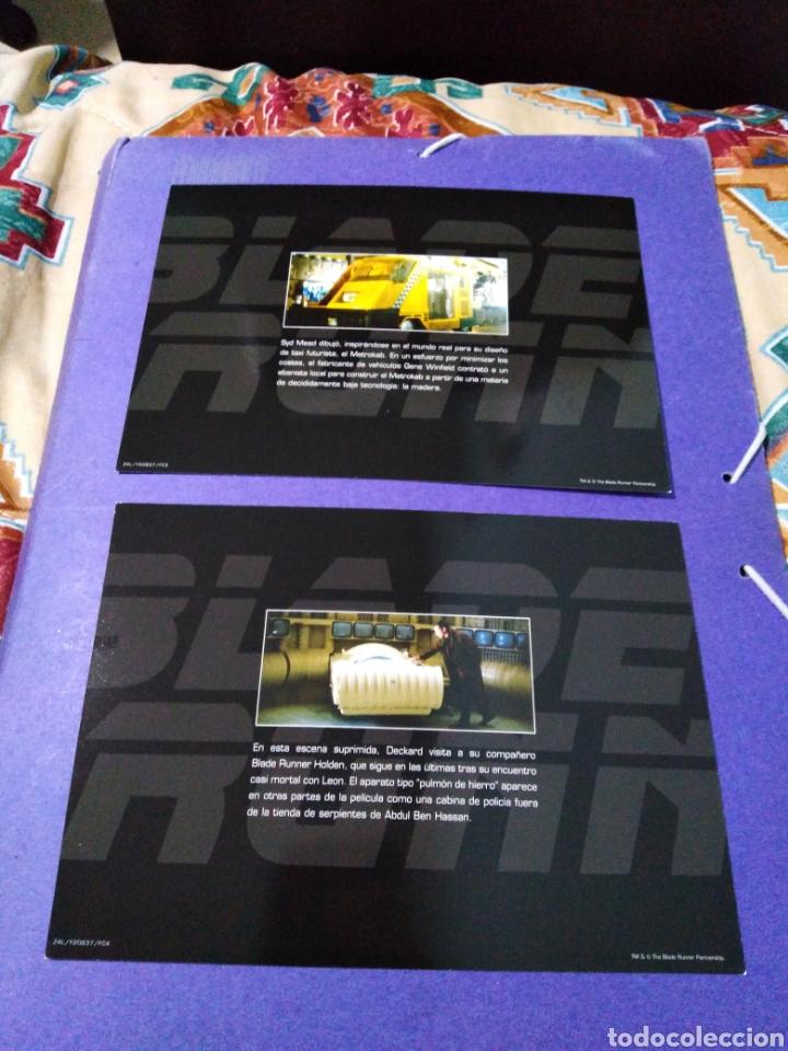 Cine: Blade Runner, caja vacía metálica ( en fotos se observa lo que trae ) NO TRAE PELÍCULAS - Foto 14 - 188521492