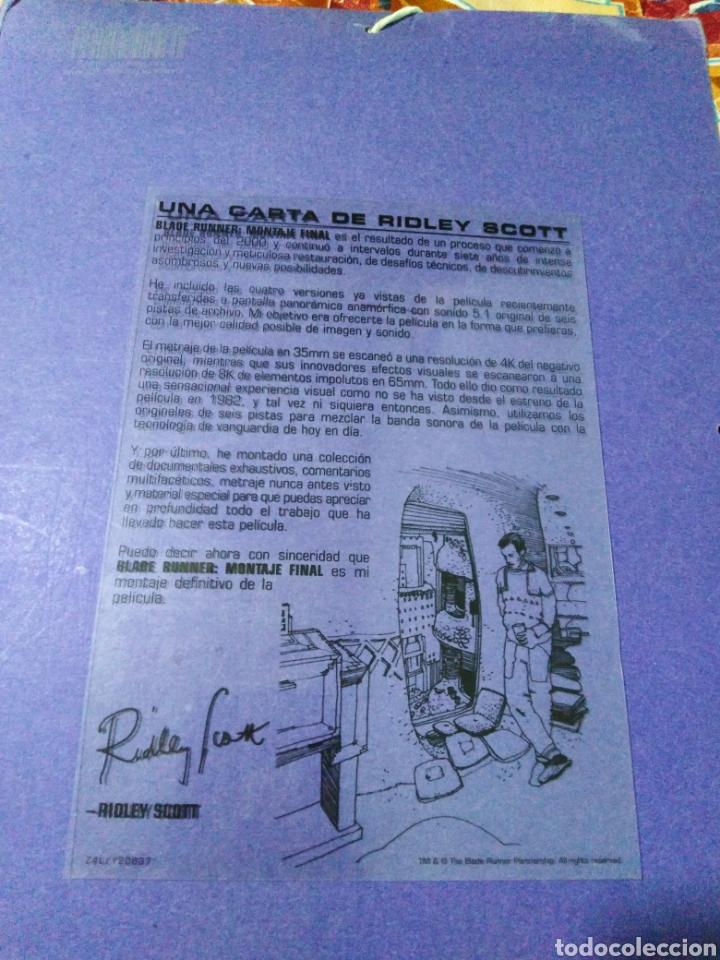 Cine: Blade Runner, caja vacía metálica ( en fotos se observa lo que trae ) NO TRAE PELÍCULAS - Foto 15 - 188521492