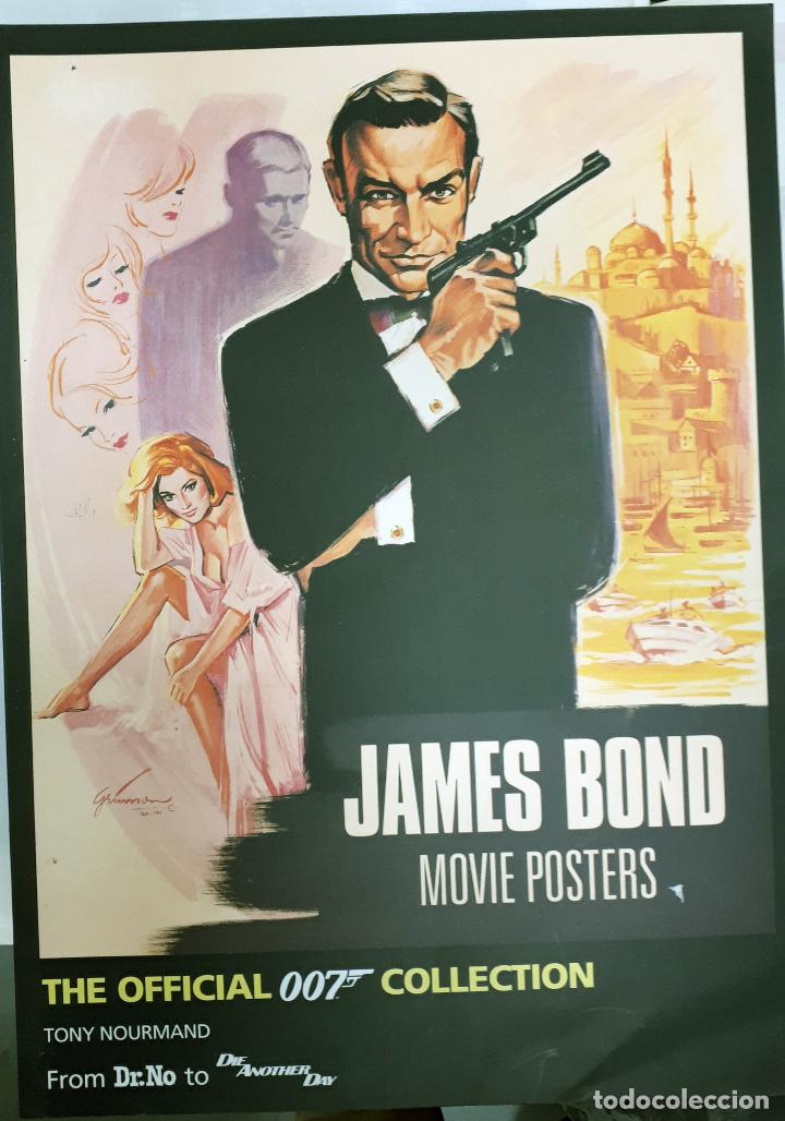 GRAN FORMATO LIBRO JAMES BOND MOVIE POSTERS CARTELES DE CINE THE OFFICIAL 007 COLLECTION (Cine - Varios)