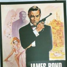 Cine: GRAN FORMATO LIBRO JAMES BOND MOVIE POSTERS CARTELES DE CINE THE OFFICIAL 007 COLLECTION. Lote 188668308