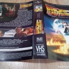 Cine: CARATULA VHS REGRESO AL FUTURO / BACK TO THE FUTURE. Lote 188805425