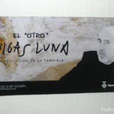 Cine: TARJETA INVITACION EXPOSICION EL OTRO BIGAS LUNA.-TARRAGONA. Lote 189793987