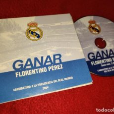 Cine: FLORENTINO PEREZ GANAR CANDIDATURA PRESIDENCIA REAL MADRID 2004 DVD PROMOCIONAL. Lote 189999123