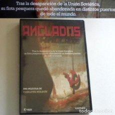 Cine: DVD DOCUMENTAL ANCLADOS C. NELSON SOBRE BARCOS DE LA URSS ABANDONADOS TRAS UNIÓN SOVIÉTICA MARINEROS. Lote 190157222