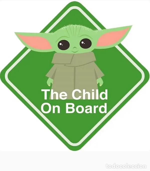 Star Wars BABY ON BOARD 11x 11