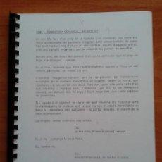 Cine: GUIÓN DE LA PELÍCULA CUERPO EN EL BOSQUE - CON ANOTACIONES DE CAMPO. Lote 190908787