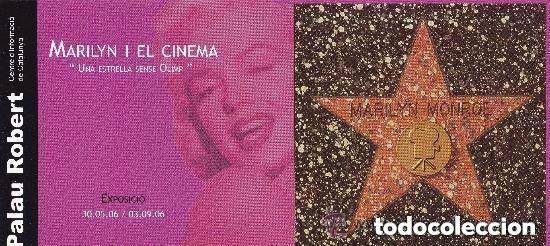 Cine: Marilyn Monroe ,exposicion 2006 Barcelona - Foto 3 - 191247390