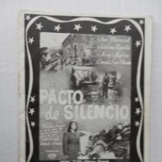 Cine: (CATALOGO) HISPANO FOX FILM - 1949 - MED. 17 X 12 CM. 22 CARTELES (CINE FEMINA Y ASTORIA) VER FOTOS . Lote 191515156
