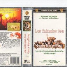 Cine: LOS ANIMALES SON GENTE MARAVILLOSA. Lote 191871778