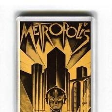 Cinema: IMAN ACRILICO NEVERA - CINE METROPOLIS. Lote 191943822