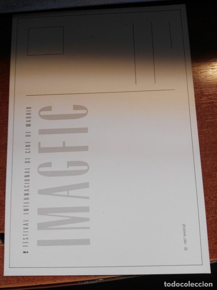 Cine: cartel postal IMAGFIC 1987 FESTIVAL CINE FANTASTICO MADRID - Foto 2 - 193449538
