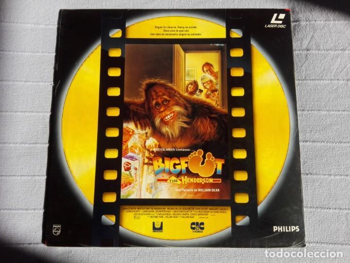 BIGFOOT Y LOS HENDERSON - LASERDISC (Cine - Varios)
