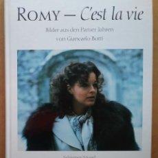 Cine: ROMY SCHNEIDER FOTOGRAFÍA CINE LIBRO BIOGRAFIA. Lote 194159245