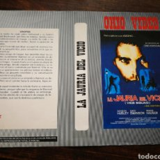 Cine: CARATULA ORIGINAL PELÍCULA LA JAURÍA DEL VICIO- VHS, BETA.. Lote 194287981