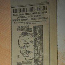 Cine: ANUNCIO PELICULA YO TENIA 7 HIJAS. Lote 194403665