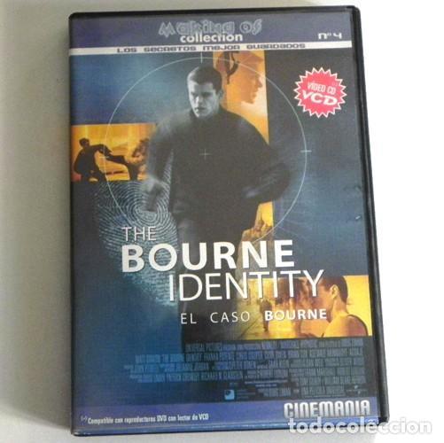 VIDEO VCD COPATIBLE CON DVD MAKING OF THE BOURNE IDENTITY EL CASO BOURNE MATT DAMON CINE CINEMANÍA (Cine - Varios)