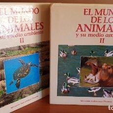 Cine: LASER DISC / EL MUNDO DE LOS ANIMALES II / RODRÍGUEZ DE LA FUENTE / COUSTEAU / 20 DISCOS DE LUJO.. Lote 194565598