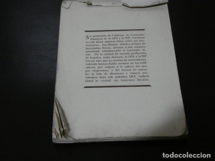 Cine: ver fotos TREMENDO BLOCK CON LOS ESTRENOS año 1930 DE LA U.F.A Y B.I.P CONCESION ESPAÑOLA- HITCHCOCK - Foto 2 - 194893925