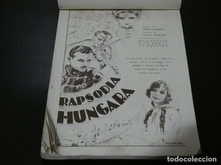 Cine: ver fotos TREMENDO BLOCK CON LOS ESTRENOS año 1930 DE LA U.F.A Y B.I.P CONCESION ESPAÑOLA- HITCHCOCK - Foto 5 - 194893925