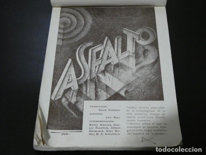 Cine: ver fotos TREMENDO BLOCK CON LOS ESTRENOS año 1930 DE LA U.F.A Y B.I.P CONCESION ESPAÑOLA- HITCHCOCK - Foto 6 - 194893925