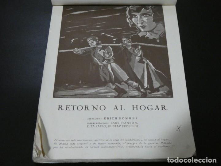 Cine: ver fotos TREMENDO BLOCK CON LOS ESTRENOS año 1930 DE LA U.F.A Y B.I.P CONCESION ESPAÑOLA- HITCHCOCK - Foto 7 - 194893925
