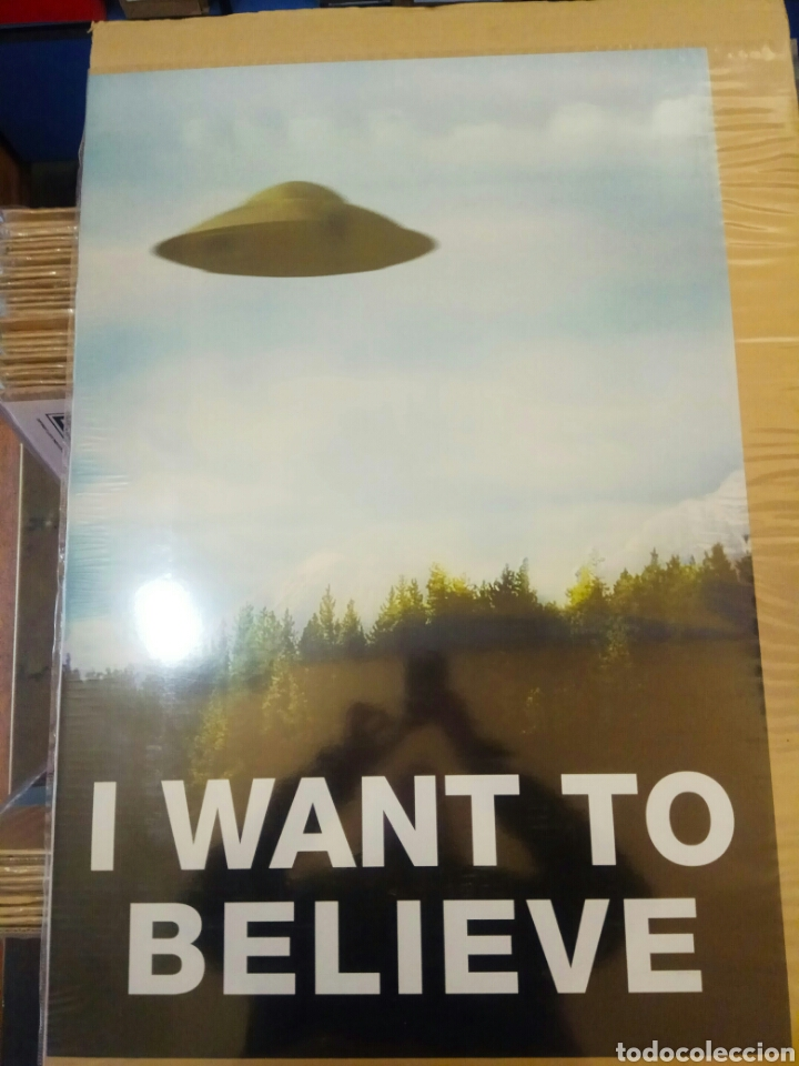 Cine: Póster I Want to Believe 60 x 90 - Foto 1 - 194893952