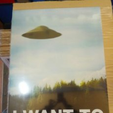 Cine: PÓSTER I WANT TO BELIEVE 60 X 90. Lote 194893952