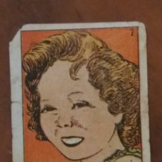 Cine: SHIRLEY TEMPLE , CROMO ANTIGUO.. Lote 195146131