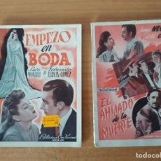 Cine: DOS NOVELAS DE EDI. ALAS. Lote 195209830