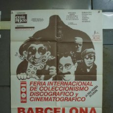 Cine: CDO 418 GROUCHO MARX KING KONG FRANKESTEIN FERIA COLECCIONISMO DISCO CINE BARCELONA POSTER 70X100. Lote 195228142